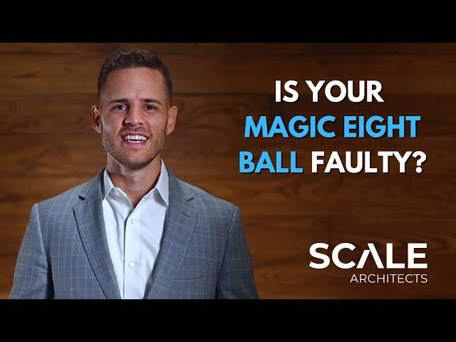 Is your magic eight ball faulty