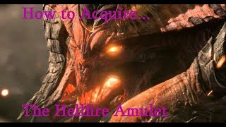 How to Acquire... The HellFire Amulet Diablo 3 guide