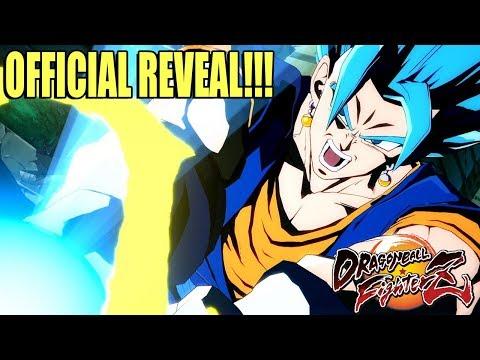 Bandai Namco Officially Reveals Vegito Blue for Dragon Ball FighterZ!!!