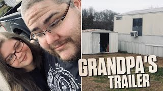 WE FOUND GRANDPA'S TRAILER!