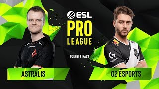CS:GO - Astralis vs. G2 Esports [Inferno] Map 2 - Group B - ESL Pro League Season 10 Finals