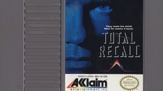 Classic Game Room - TOTAL RECALL review for NES