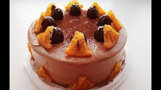 Торт Апельсин с шоколадом апельсиновый торт