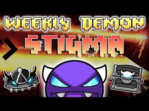 (Weekly Demon #26) Geometry Dash 2.11 - stigma [3 Coins] - By neigefeu