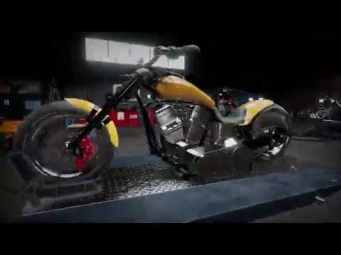 Motor Mechanic Simulator (MMS) - Over 400 Parts In Each Motorbike!!!