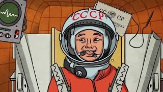Профессор Почемушкин - Познавательный мультфильм для детей –Почему день космонавтики 12 апреля?