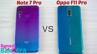 Oppo F11 Pro vs Redmi Note 7 Pro SpeedTest and Camera Comparis…