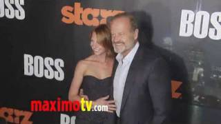 BOSS Premiere Arrivals with Kelsey Grammer - STARZ New TV Series