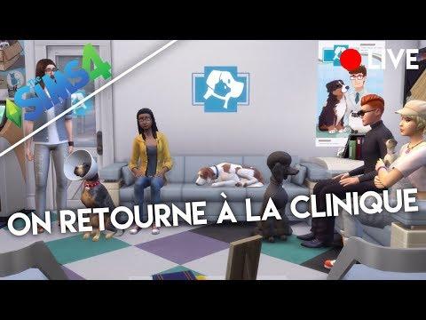 ON RETOURNE A LA CLINIQUE ! - Les Sims 4 Chien et Chat !