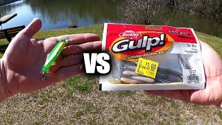Gulp Minnow vs Jerkbait - Which Fishing Lure Catches More Bass?