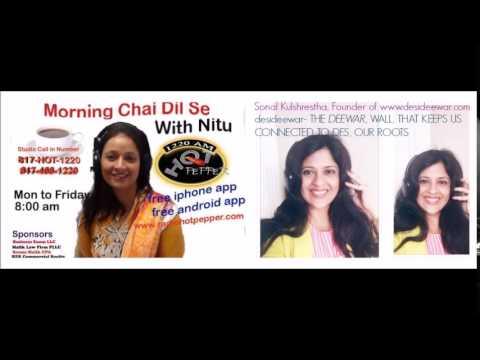 Radio Show: Visiting India