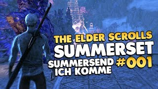 Let's Play Elder Scrolls Online Summerset Edition 👑 #001 [Gameplay/German/Deutsch]