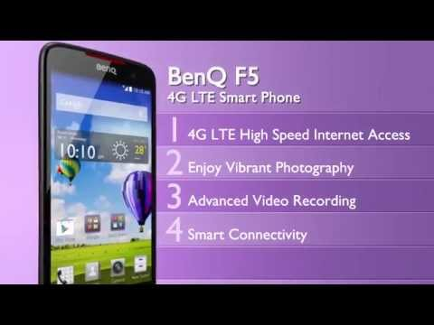 BenQ Smartphone: F5 - 4G LTE Smartphone