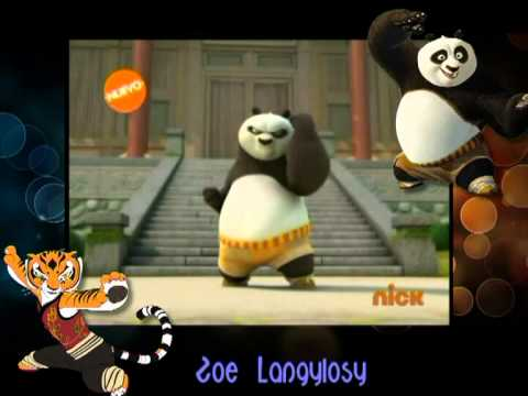 (HD) Kung Fu Panda Intro In Latin Spanish Nick Dub