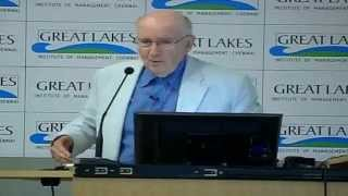 Session with Dr. Philip Kotler. 10th March, 2013