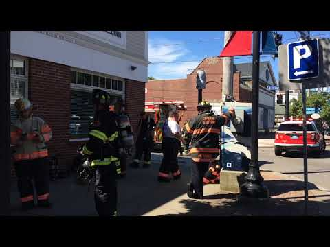 Fire at Cape Cod Times/Barnstable Patriot building