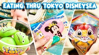 Eating Thru Tokyo DisneySea and More! | TOKYO TRIP 2019