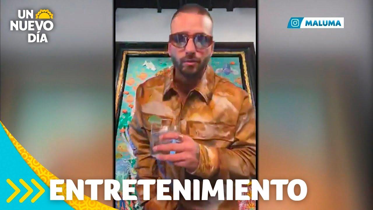 Download Maluma dice si será papá en su fiesta de cumpleaños | Un Nuevo Día | Telemundo