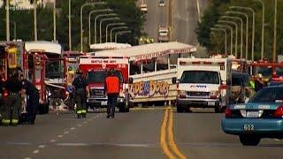 Bus driver, passengers describe duck accident