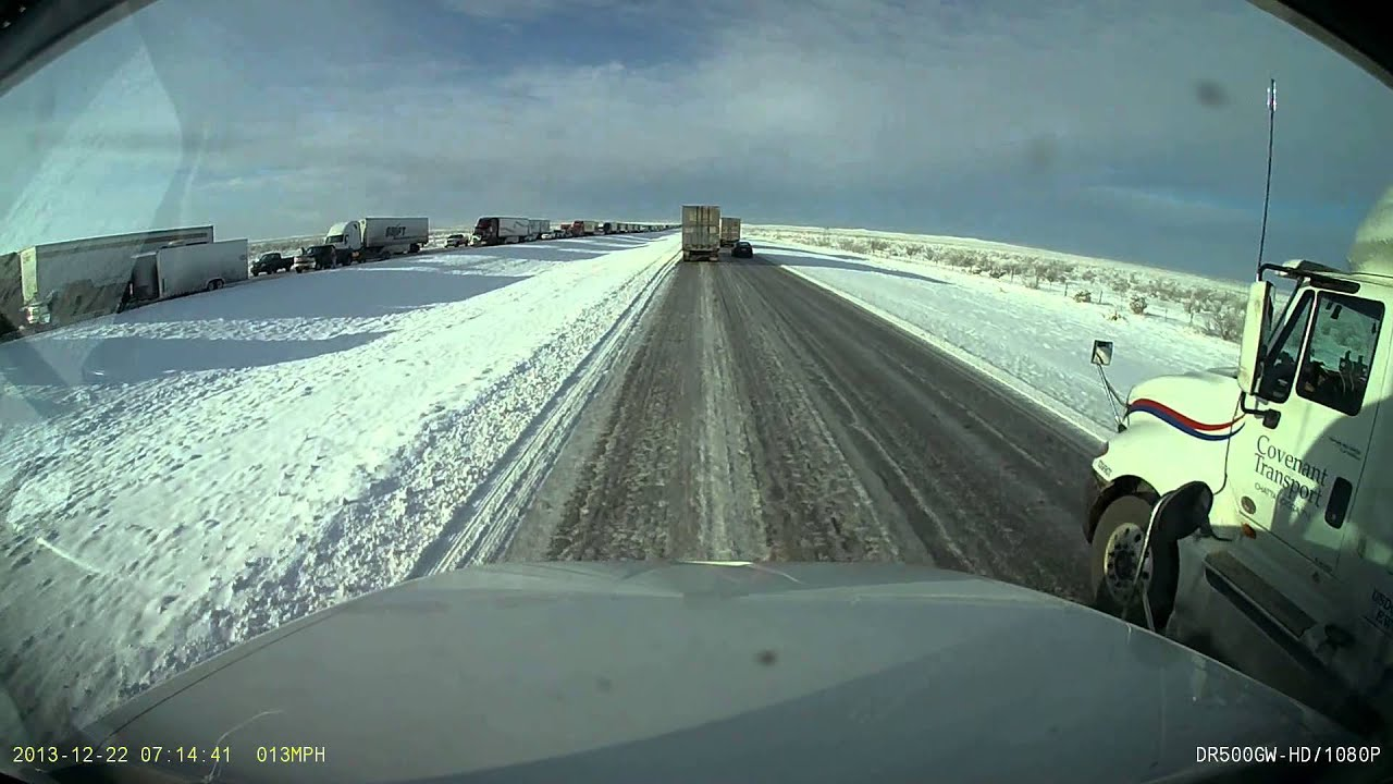 Winter safety tips for truck drivers - Truck Driving In Winter Weather