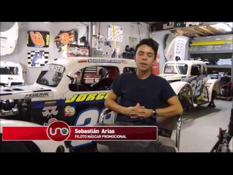 Sebastián Arias Aspira A Ser Novato De La Temporada Nascar