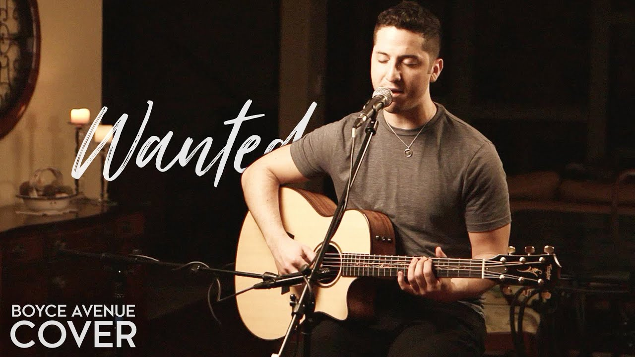 Wanted Hunter Hayes Boyce Avenue Acoustic Cover On Spotify