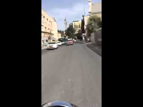 periRide my motorcycle streets of jerusalem