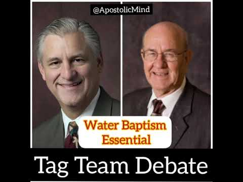 DEBATE | Part 2 | Is Water Baptism Essential? | David Bernard & JL Hall Vs Robert Morey & Ed