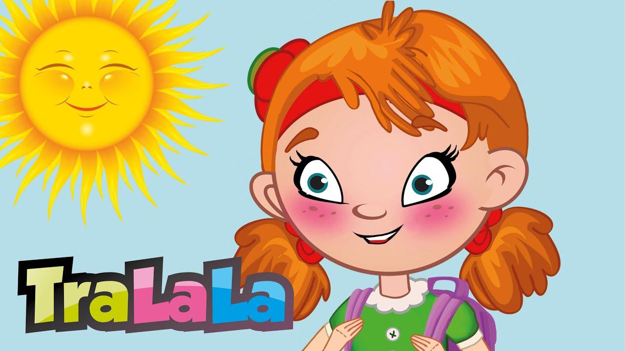 Zilele săptămânii - Cântece pentru copii   TraLaLa