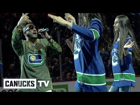Bhangra Superstar Jazzy B Performs for Canucks Fans on Diwali Night