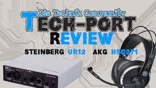 AKG HSC 271 Headset & Steinberg UR12 Audiointerface [Review]