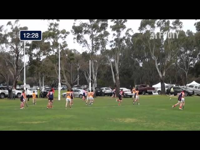 2013 SMJFL Grand Final Under 13 Div 3 - Bentleigh v East Sandringham 2