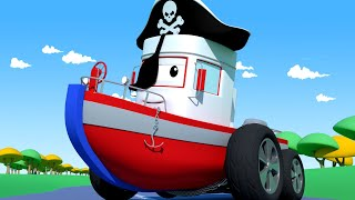 Tom the Tow Truck -  Bobby The Boat Wants to Go to The Costume Party!   Cars Cartoon For Children