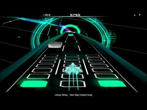 Audiosurf - Stars Align - Lindsey Stirling (Original Song)
