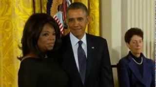 president obama awards oprah winfrey bill clinton with presidential medal of freedom