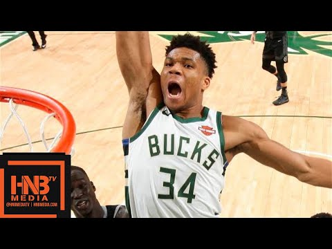 Milwaukee Bucks vs Detroit Pistons - Game 1 - Full Game Highlights | April 14, 2019 NBA Playoffs