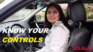 Know Your Vehicle Controls | Zula Driving School thumbnail