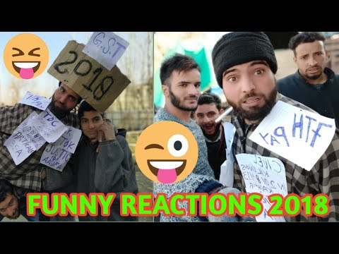 FUNNY/EMOTIONAL REACTIONS OF 2018||REDWANI ROUNDERS