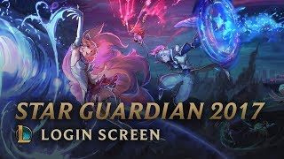 Star Guardian 2017 (w/ Vocals - A New Horizon)   Login Screen - League of Legends