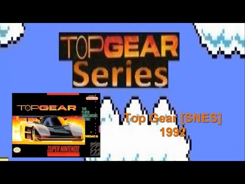 Top Gear [SNES]. Longplay on Amateur with Sidewinder: White Car {Low FR}