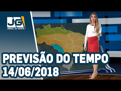 Previsão do Tempo - 14/06/2018