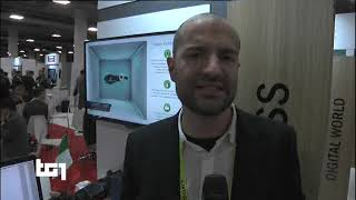 Las Vegas - TG1 10 01 2019 - startupS/imprese made in italy - CES Consumer Electronics Show