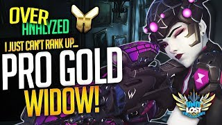 Overwatch Coaching - PRO Gold Widow?! I can't rank up... [OverAnalyzed]