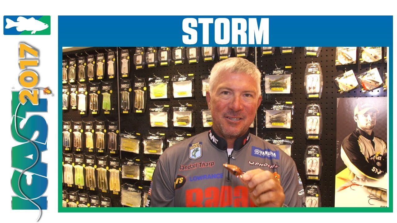 New Storm Original Wiggle Wart Colors W Randall Tharp Icast 2017