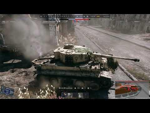 War Thunder RB Tiger H1 Port Novorossiysk 7 kills