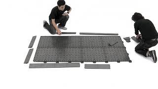 PromoDek modulares Bodendisplay System