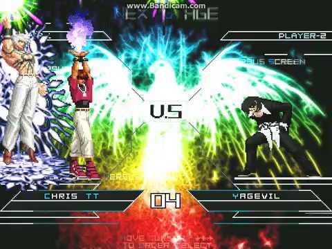 [KOF MUGEN] Chris TT VS. Rin YagEvil