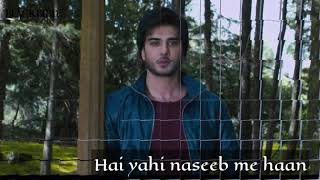 Khaab ko tut jane do taklif badi ho tho kya sad whatsapp status