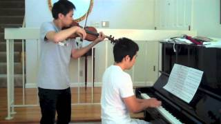 Star Wars - The Force Theme - Violin, piano