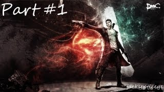 DMC: Devil May Cry PC - First Mission - Gameplay Walkthrough - Part 1